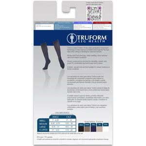 1973 / Truform Compression Socks for Women / 15-20 mmHg / Packaging