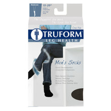 1933 / Truform Compression Socks / 15-20 mmHg / Knee High / Cushion Foot / Packaging