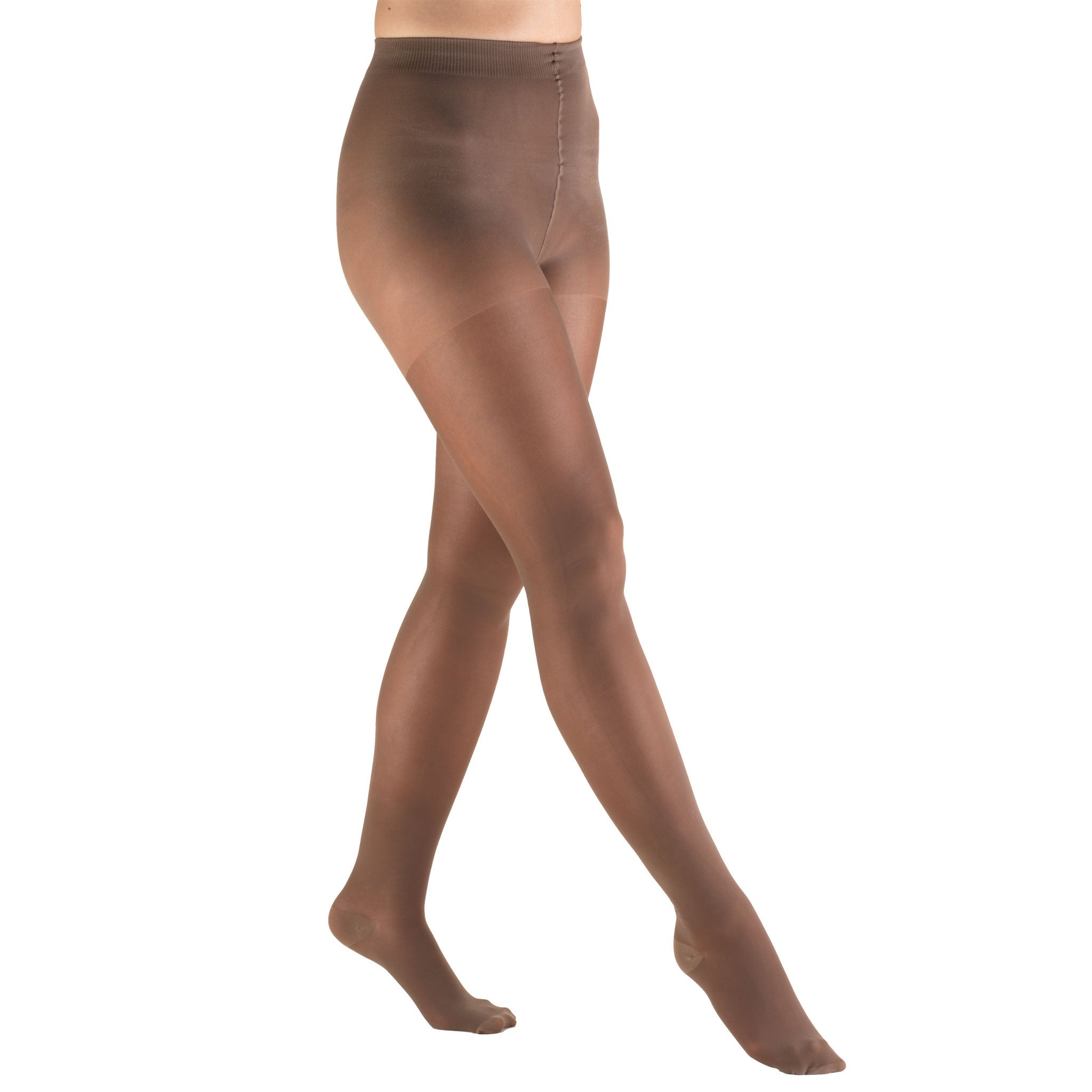 CLOSED TOE TAUPE TRUSHEER PANTYHOSE