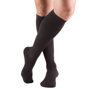 1933 / Truform Compression Socks / 15-20 mmHg / Knee High / Cushion Foot / Brown