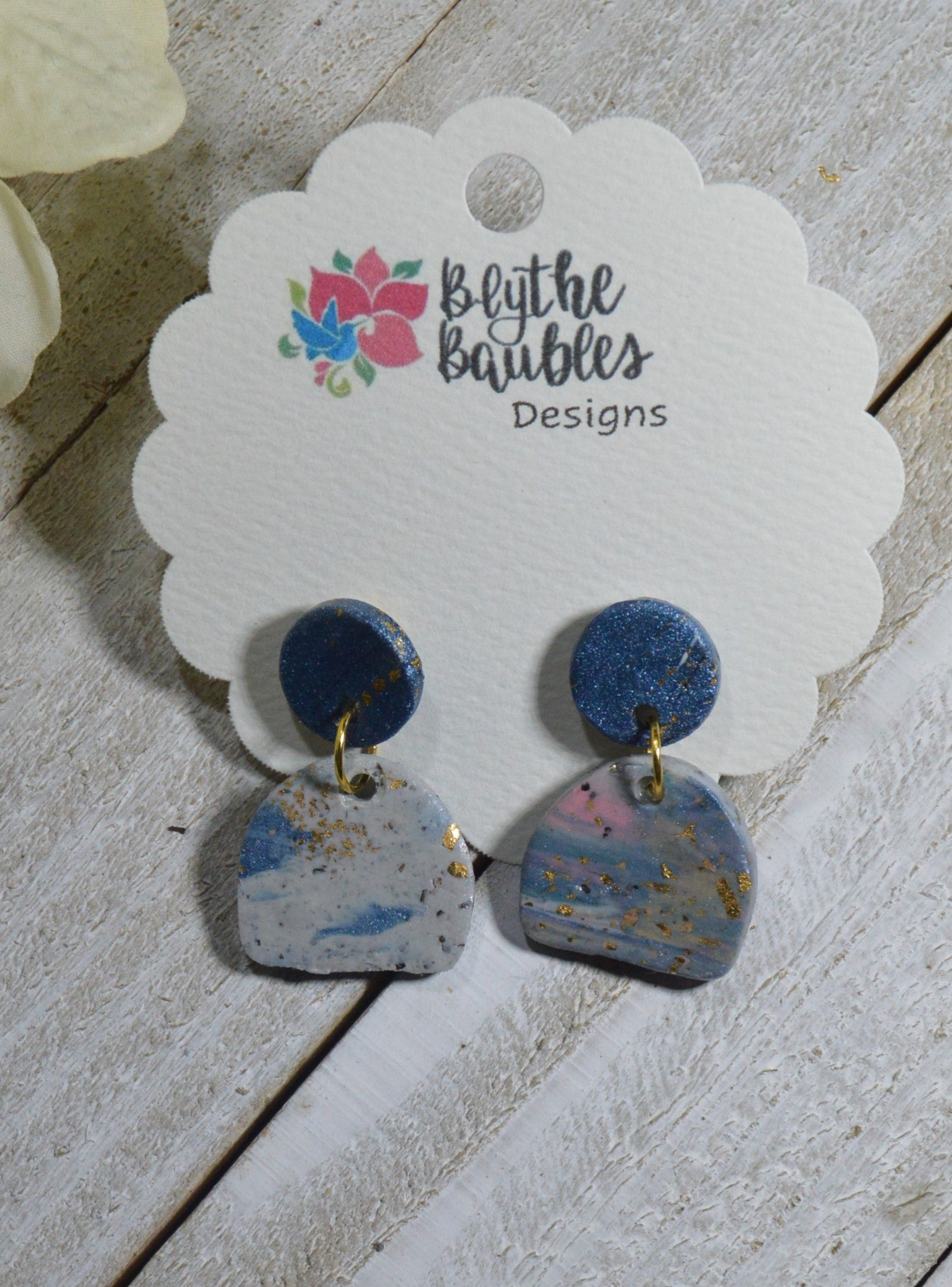The Jill Polymer Clay Earrings