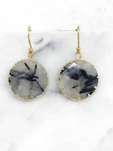 Black Rutilated Quartz Tesoro Mio Boutique Accessories