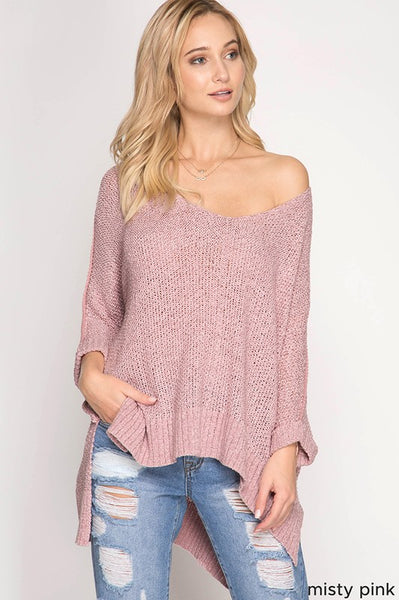 My way dusty pink top