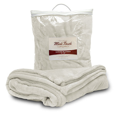 Custom Embroidered Oversized Minky Touch Blanket - QUAL2011