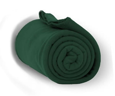 Custom Embroidered Fleece Throw Blanket - QUAL2002