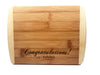 Personalized Cutting Board 6x8 (Rounded Edge) Bamboo QUAL1027