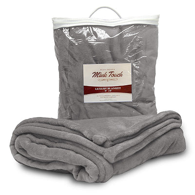 Custom Embroidered Minky Touch Blanket - QUAL2010