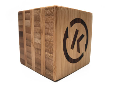 Custom Laser Engraved Branded Wooden Blocks QUAL1105