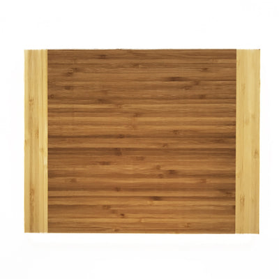 Custom Engraved 11x14 Square Two Tone Bamboo Cutting Board QUAL1012