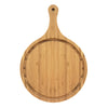 Custom Bamboo Round Handle Cutting Board w/ Groove QUAL1016