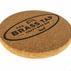 Custom Laser Engraved Cork Coasters QUAL1024