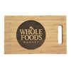 Custom 11x17 Bamboo Cutting Board with Easy Carry Notch QUAL1013