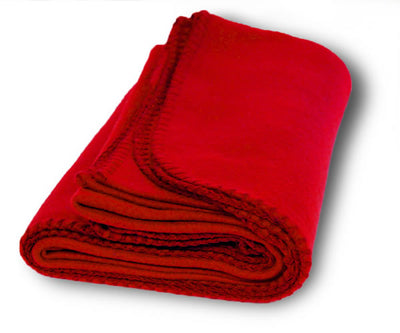 Custom Embroidered Promo Fleece Blankets - QUAL2012