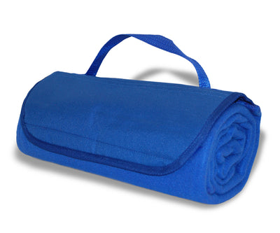 Custom Embroidered Fleece Roll-Up Banket - QUAL2004