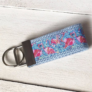 Flamingo Key Fob