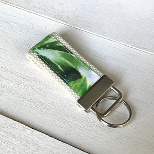 Banana Leaf Key Fob
