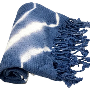 Navy Diamond Dye Towel