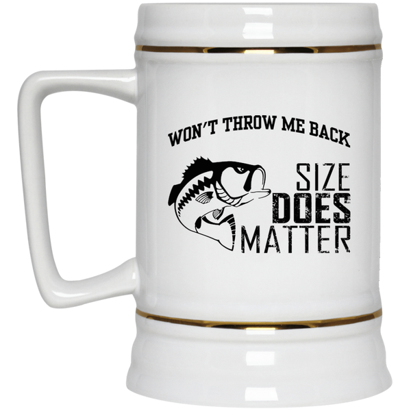 Size Does Matter Beer Stein 22oz.
