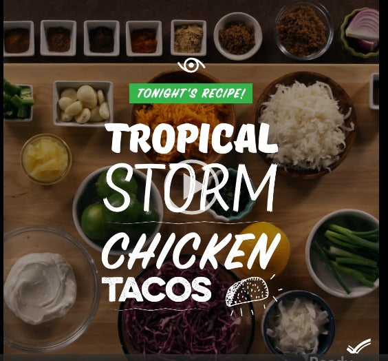 Tropical Storm Chicken Tacos recipe