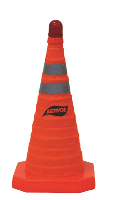"Aervoe 18"" Collapsible traffic safety cone"