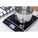 Counter top Burners Max Burton 6400 Digital Choice Induction Cooktop 1800 Watts