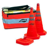 28 inch Safety Collapsible Cone - Kit 3-Pack  by Aervoe