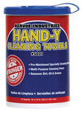 Hand-y Cleaning Towels 75 Count Tub Plus One Refill Pack