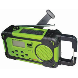 Solodyne Emergency Alert Dynamo NOAA Radio, and LED flashlight combo