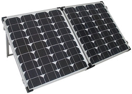120-Watt Monocrystalline Solar Collector with 10 Amp Controller