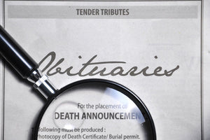 Eulogies, elegies, and obituaries- what are the differences?