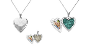 A bespoke memorial locket is a perfect tribute to a loved one