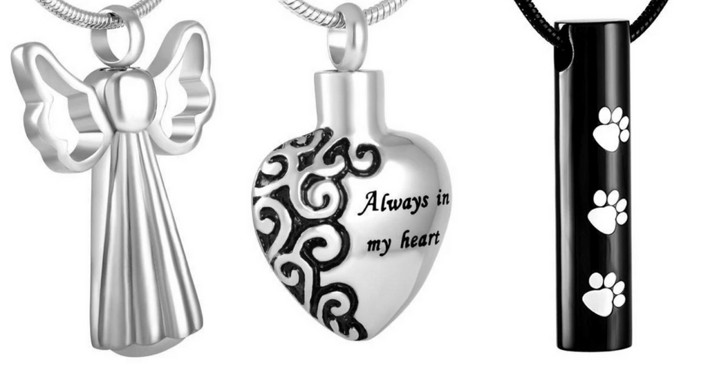 Memorial pendants that you can fill yourself