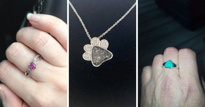 Custom-made memorial jewellery- to keep a loved one close