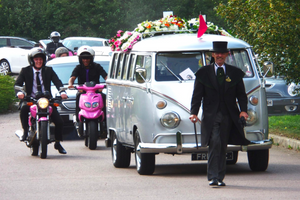 Alternatives to the traditional funeral hearse