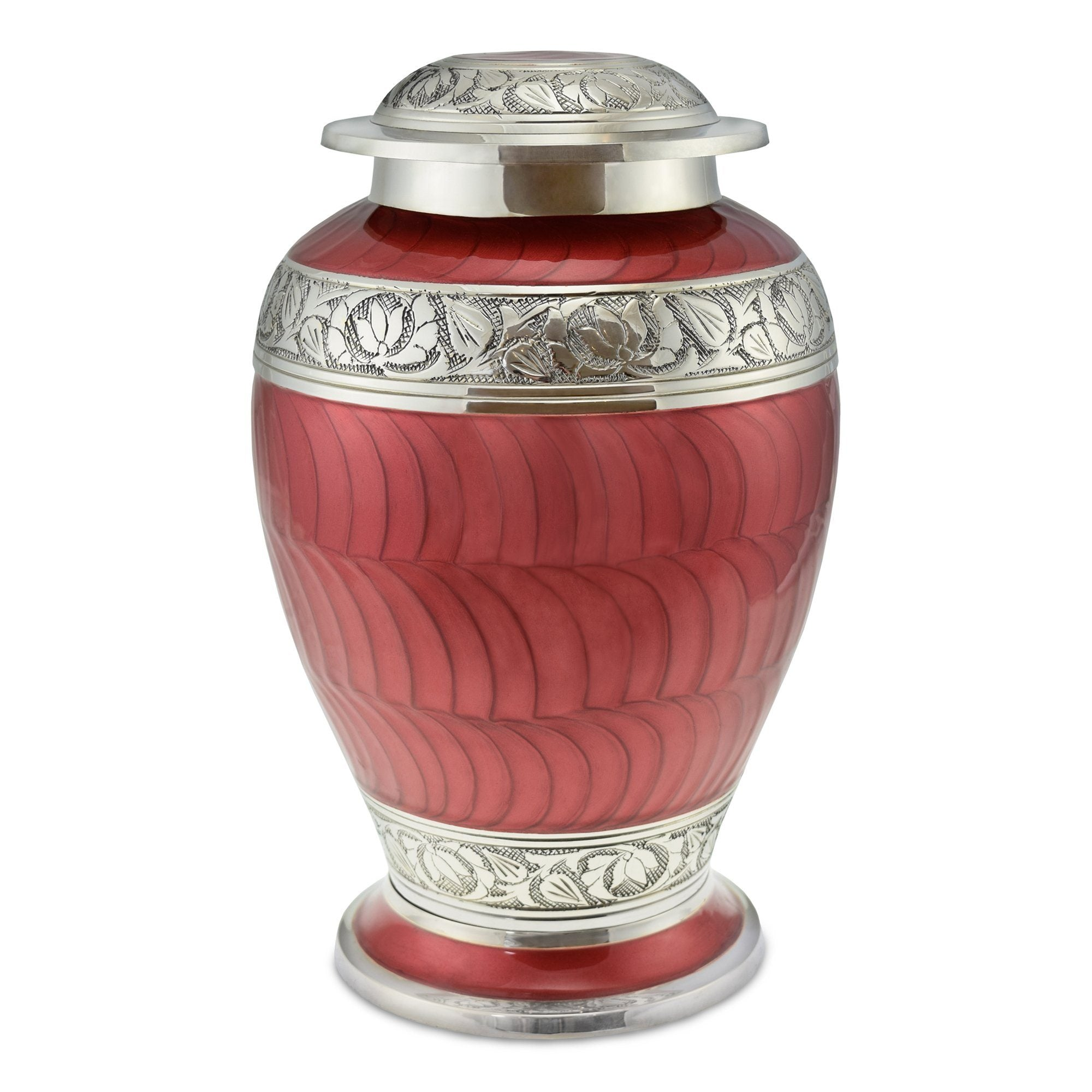 Red Cremation Urns For Ashes