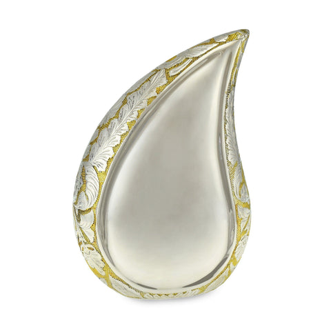 Adult Tear Drop Shape Urns