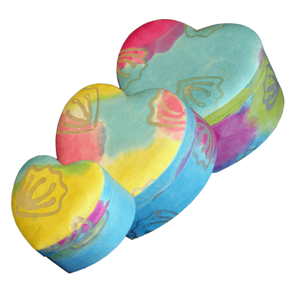 Heart Shaped Biodegradable Urns
