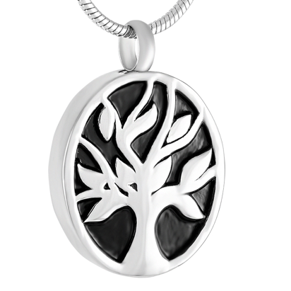 Tree Of Life Oval Memorial Ash Keepsake Cremation Pendant - Cherished Urns