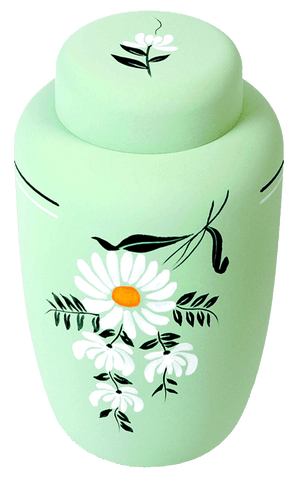 Classic Daisy Biodegradable Urn - Cherished Urns