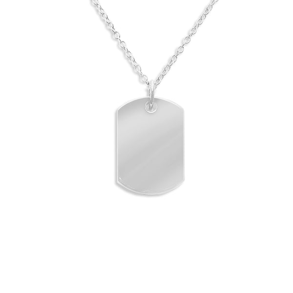 Dog Tag Hollow Ashes Cremation Pendant - Cherished Urns