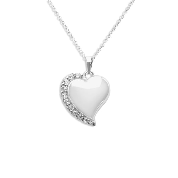 Shine Heart Hollow Ashes Cremation Pendant - Cherished Urns