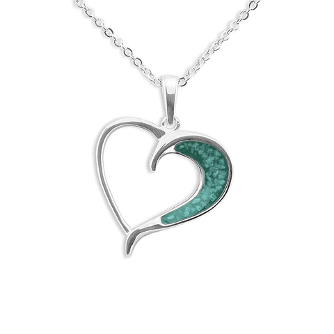 Ladies Embrace Memorial Ashes Pendant - Cherished Urns