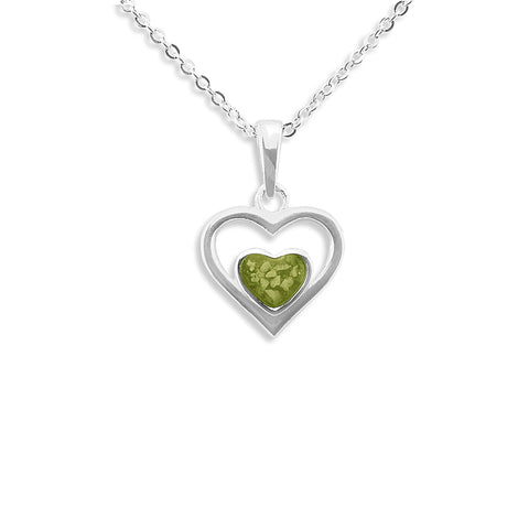 Ladies Comfort Memorial Ashes Pendant - Cherished Urns