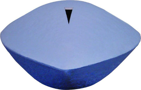 Memento Water-soluble Hand-made Paper Urn in Blue - Cherished Urns