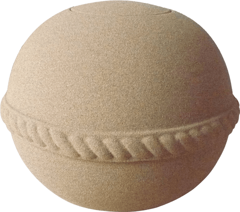 Oceane Round Sand Water-soluble Urn-Mini - Cherished Urns