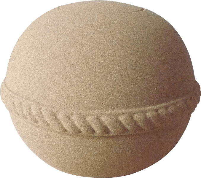 Oceane Round Sand Water-soluble Urn-Adult - Cherished Urns