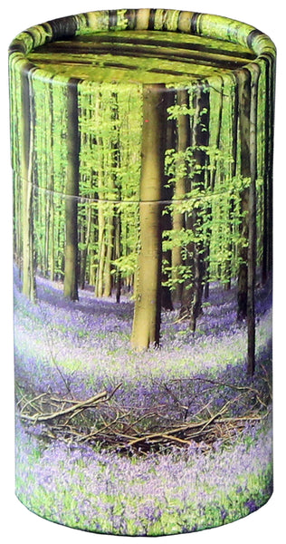 Bluebell Forest Design Eco-Friendly Scattering Tube - Small - Cherished Urns