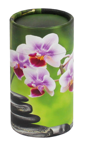 Orchid Design Eco-Friendly Scattering Tube - Small - Cherished Urns