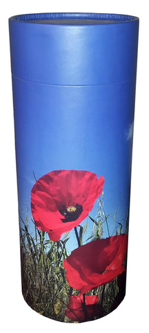 Poppy Design Eco-Friendly Scattering Tube - Large Adult - Cherished Urns
