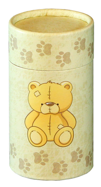 Teddy Design Design Eco-Friendly Scattering Tube - Small - Cherished Urns